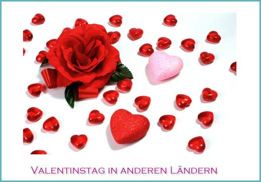 Tradition Des Valentinstag In Anderen Ländern