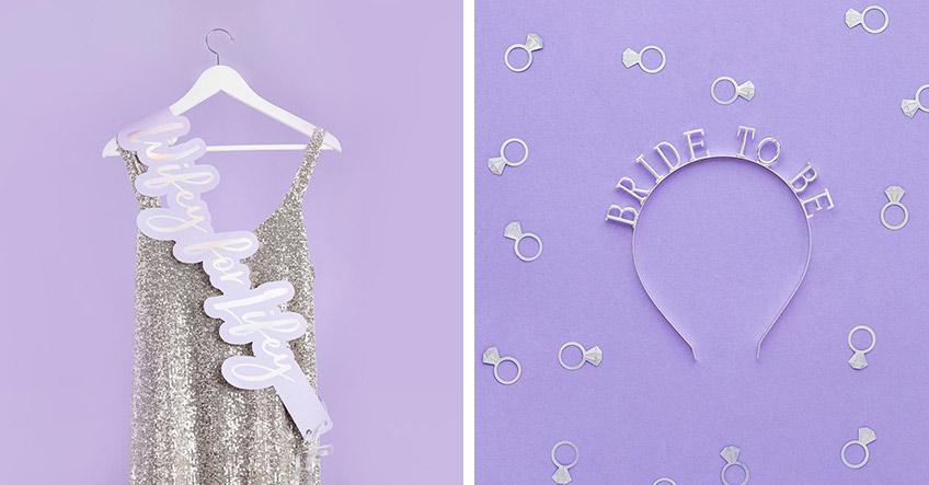 An ihrem JGA braucht die Braut schillernde Accessoires