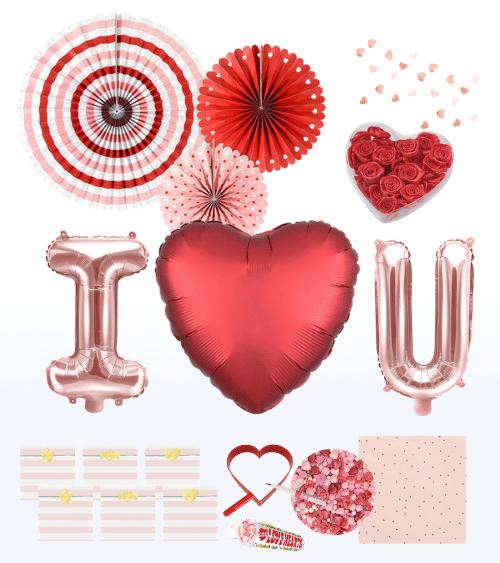 """Geschenk-Set """"Sweet Love"""" - 37-teilig"""