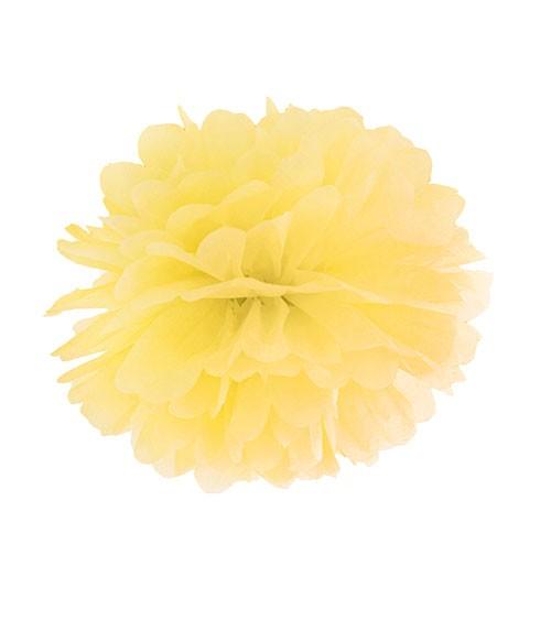 Pom Pom - 25 cm - gelb