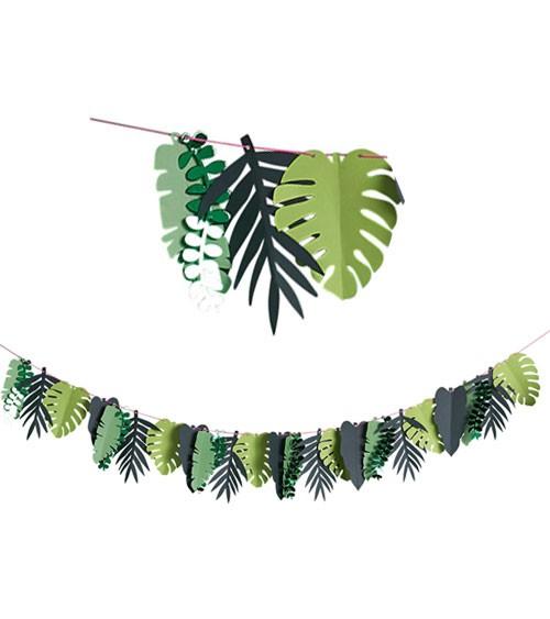 Palmenblatt-Girlande aus Papier - 2 m
