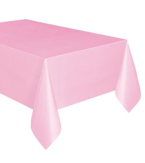 """Kunststoff-Tischdecke """"Lovely Pink"""" - 137 x 274 cm"""