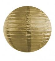 Papierlampion - gold - 35 cm