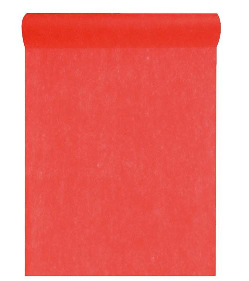Tischläufer aus Vlies - rot - 30 cm x 10 m