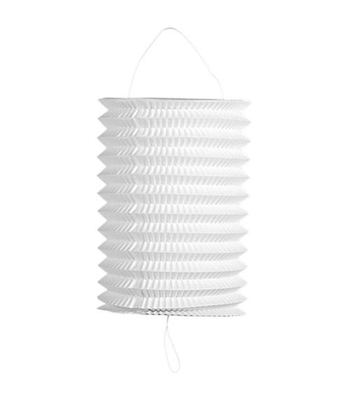 Zuglaterne - weiß - 16 cm