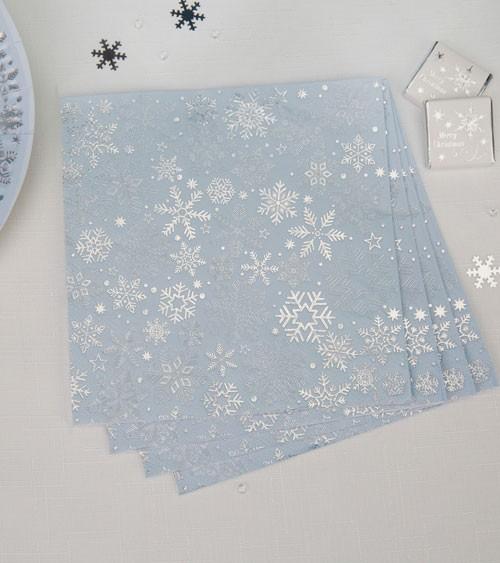 "Servietten ""Iridescent Snowflake"" - 16 Stück"