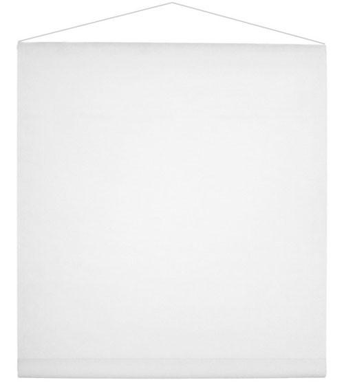 Banner aus Vlies - weiß - 80 cm x 12 m