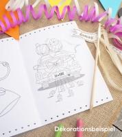 Hochzeits-Malheft - DIN A5 - 20 Seiten