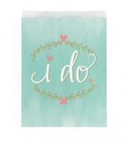 """Papiertüten """"I do"""" - 10 Stück"""