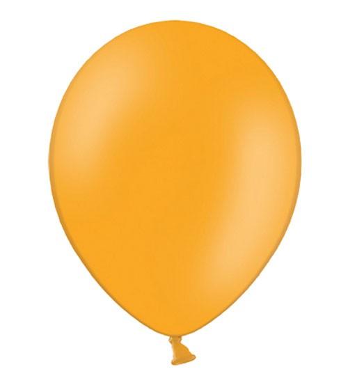 Standard-Luftballons - mandarinorange - 10 Stück