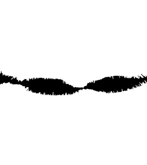 Drehgirlande 24 m - schwarz