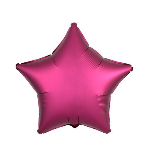"Stern-Folienballon ""Satin Luxe"" – pink – 48 cm"