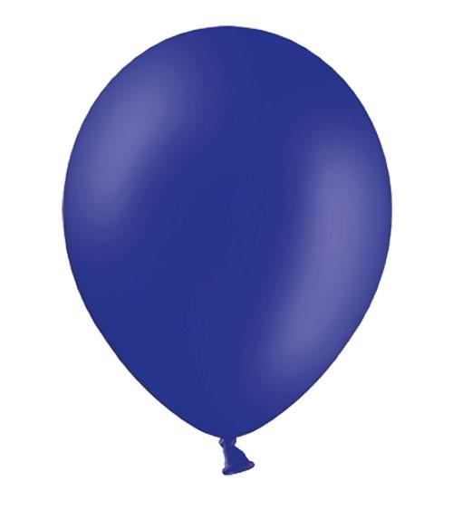 Standard-Luftballons - königsblau - 10 Stück