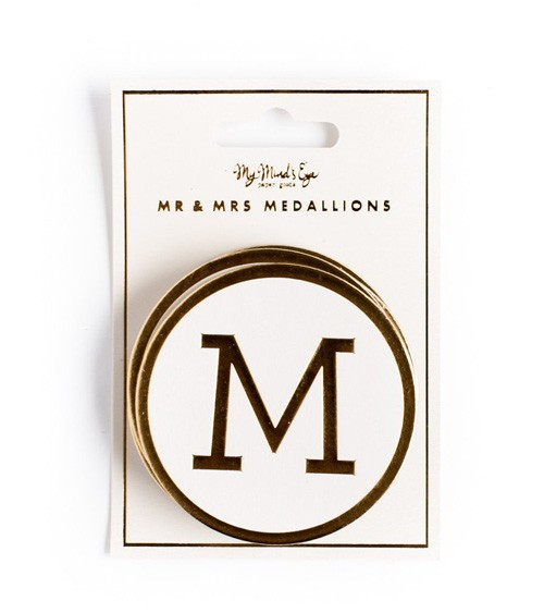 "Medaillons ""Mr(s) & Mr(s)"" - 7-teilig"