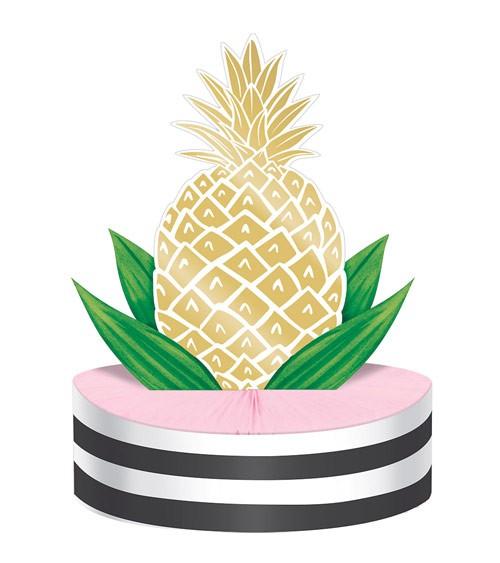"""Aufsteller """"Goldene Ananas"""""""