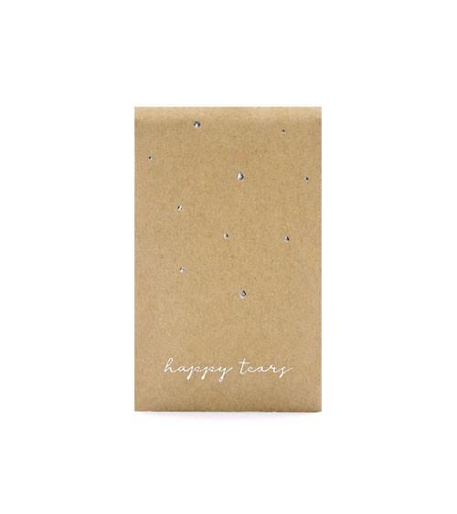 Taschentuch-Packungen für Freudentränen - Silber - 10 Stück