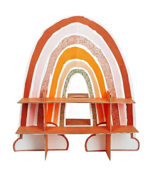 """Regenbogen-Gebäckständer """"Rainbow d'Amour"""" - 43 x 45 x 18 cm"""