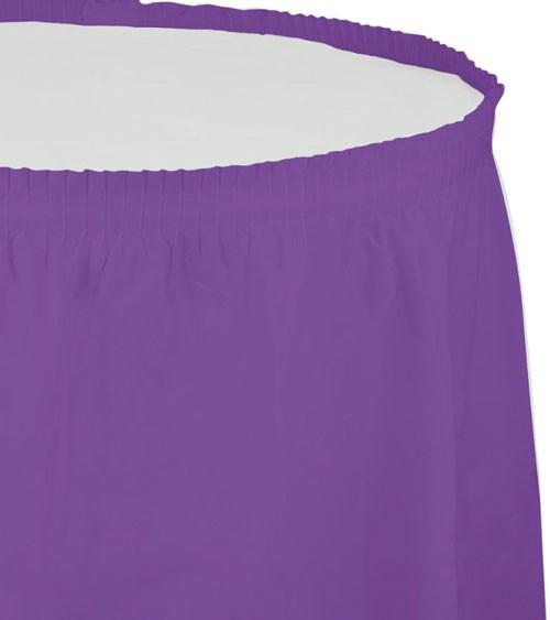 Tischverkleidung - amethyst - 4,26 m
