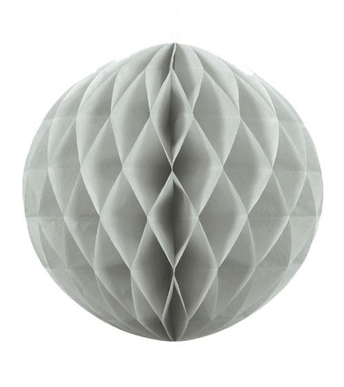 Wabenball - 30 cm - hellgrau