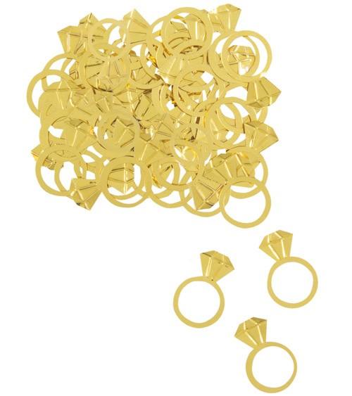 """Metallic-Konfetti """"Golden Diamond"""" - 14 g"""