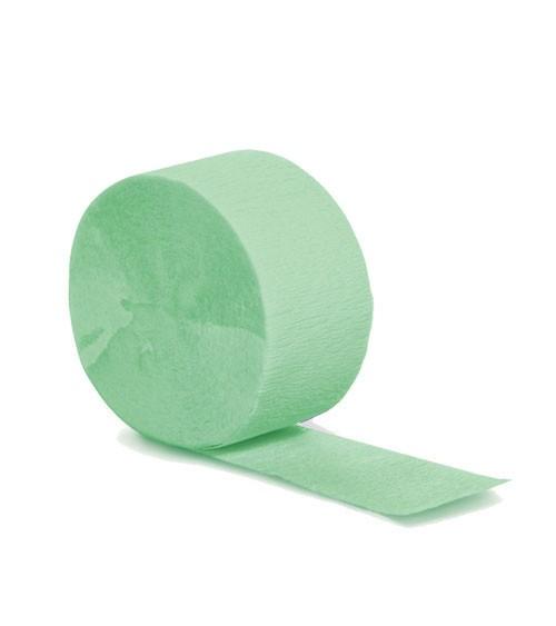 Deko-Kreppband - fresh mint - 24,6 m
