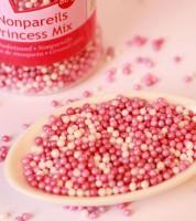 FunCakes Zuckerperlen - rosa, lavendel, perlmutt - 80g