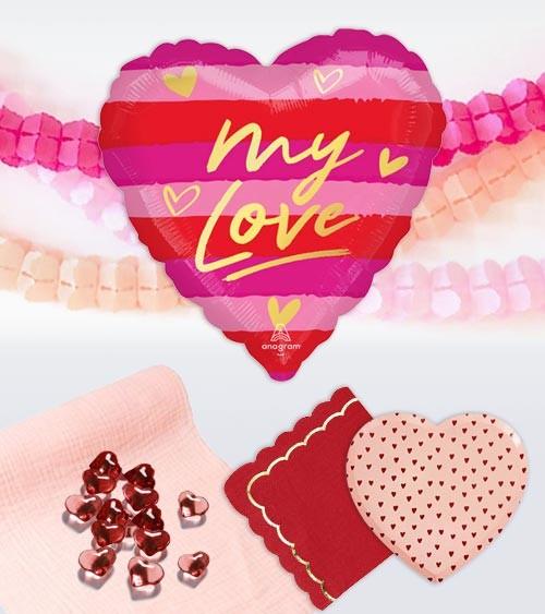 "Deko-Set ""Lieblingsschatz"" - 30-teilig"