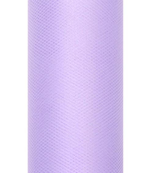 Tischband aus Tüll - lavendel - 15 cm x 9 m