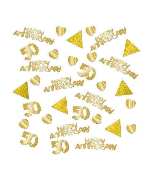 """Konfetti """"50 Happy Years"""" - 28 g"""