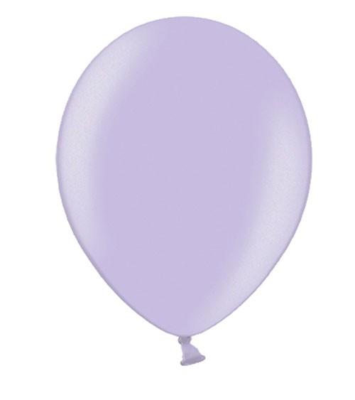 Metallic-Luftballons - lavendel - 50 Stück