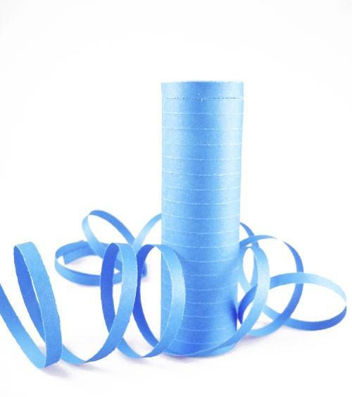 Papierluftschlange - hellblau