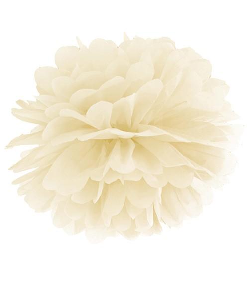 Pom Pom - 35 cm - creme