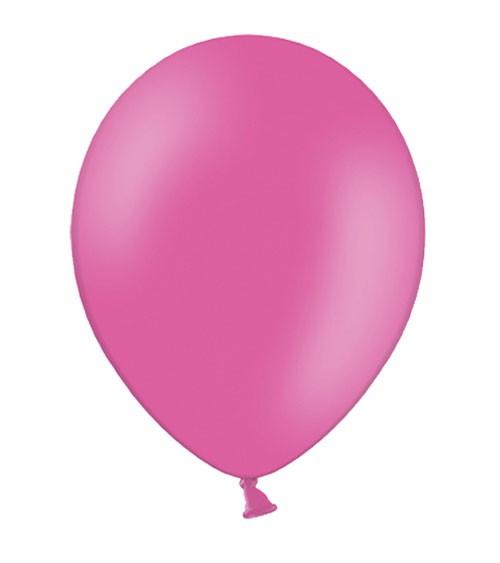 Standard-Luftballons - hot pink - 50 Stück