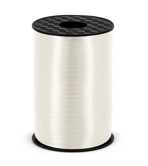 Geschenkband - weiß - 5 mm x 225 m