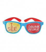 "Party-Brille ""I see drunk People"""
