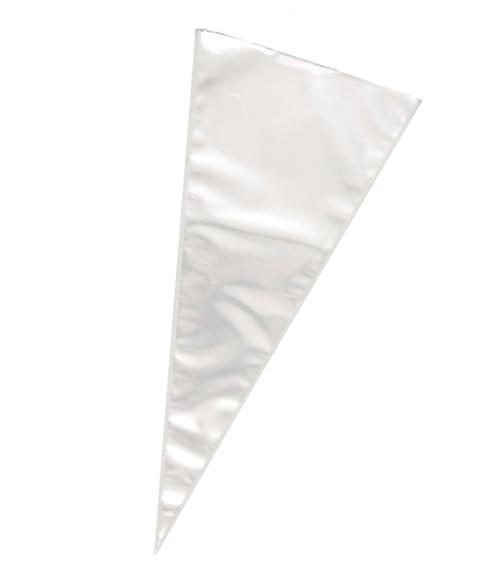 Spitztüten - transparent - 25 Stück