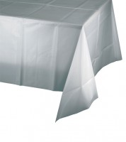 Tischdecke - silbergrau