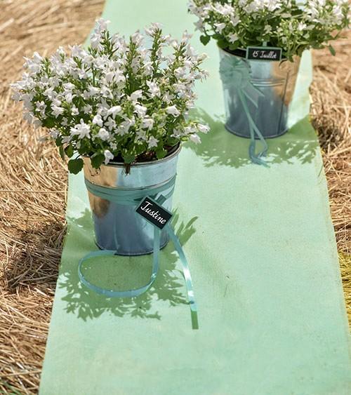 Tischläufer aus Vlies - mint - 30 cm x 10 m