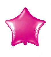Stern-Folienballon - pink - 48 cm
