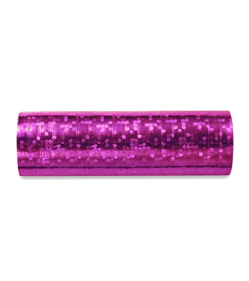 "Papierluftschlange ""Holographic"" - pink"