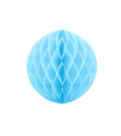 Wabenball - 10 cm - skyblue