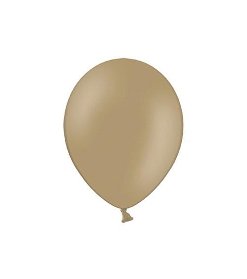 Mini-Luftballons - cappuccino - 12 cm - 100 Stück