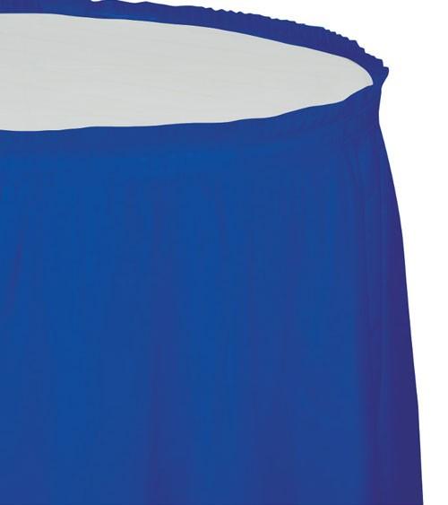 Tischverkleidung - kobaltblau - 4,26 m
