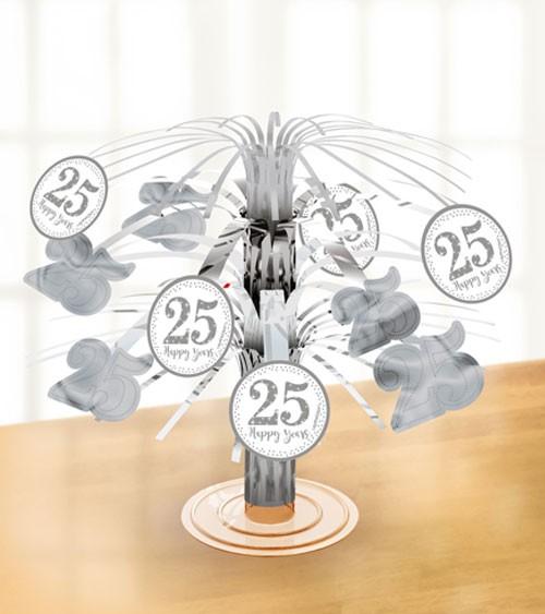 """Tischaufsteller """"25 Happy Years"""" - 19 cm"""