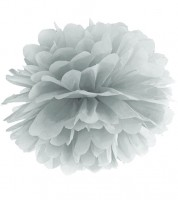 Pom Pom - 35 cm - silber