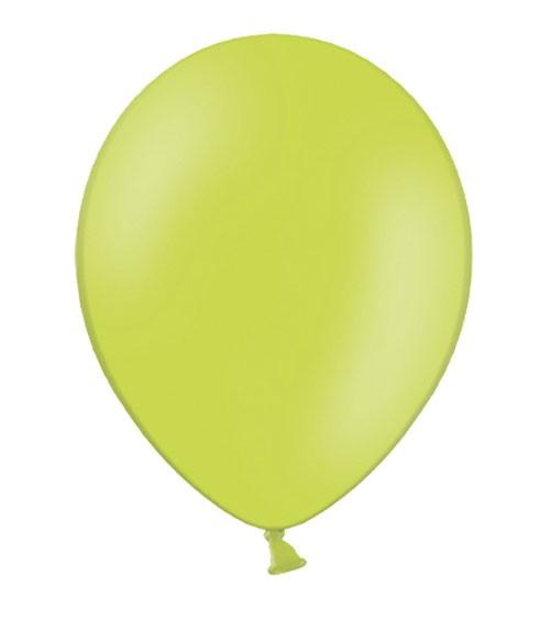 Standard-Luftballons - limegreen - 10 Stück