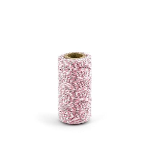 Bäckergarn - rosa - 50 m