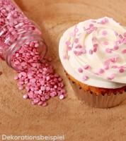 FunCakes Zuckerkonfetti - metallic rosa -  70 g
