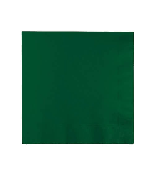 Cocktail-Servietten - hunter green - 50 Stück