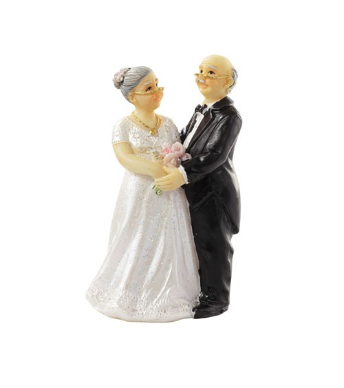 "Deko-Figur ""25 Jahre Ehe"" - 7 cm"